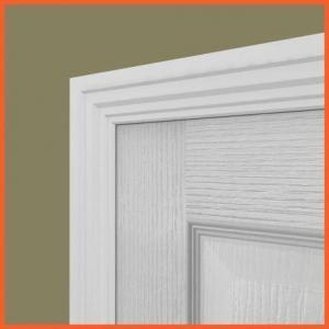 Architrave around a door
