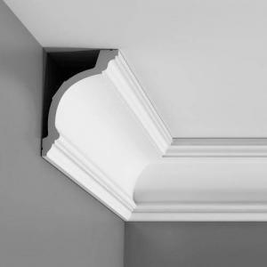 Cornice in corner of ceiling and wall